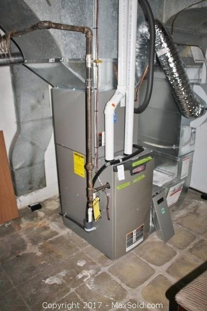 Furnace, Humidifier and Filter