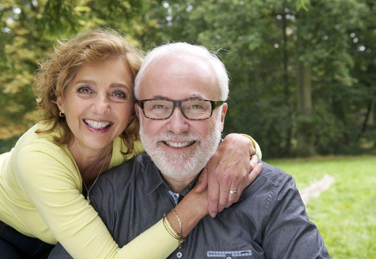 Montana Dental Insurance for Seniors: Happy Couple