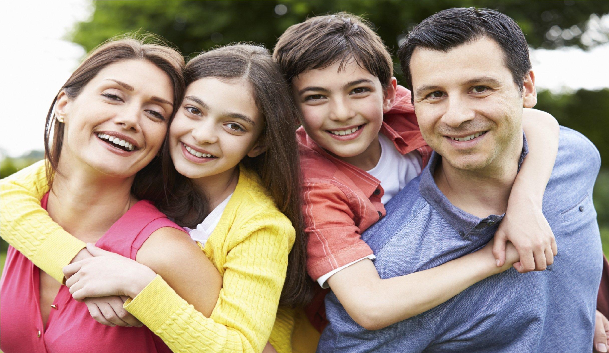 family with health insurance in Oklahoma