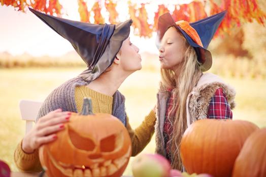 The origin of Halloween and the origin of Halloween candy!