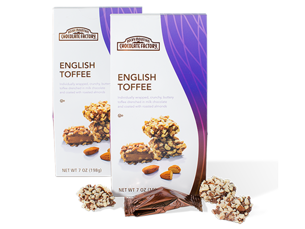 English Toffee Delivered