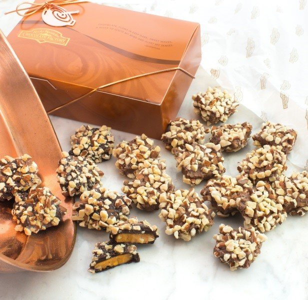 Toffee is a long time English favorite candy. It's especially popular as a Christmas candy in America.