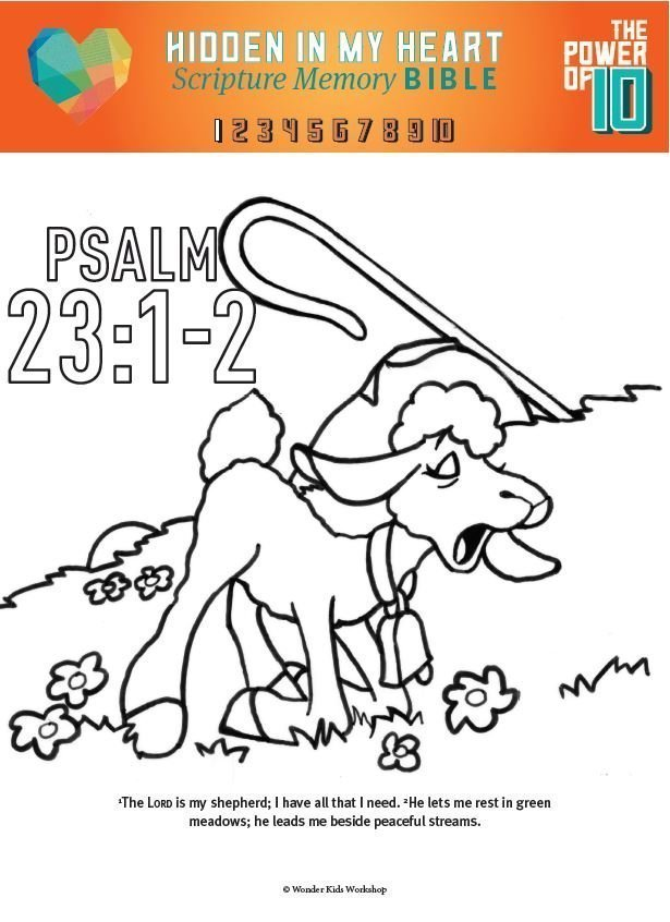psalms-coloring