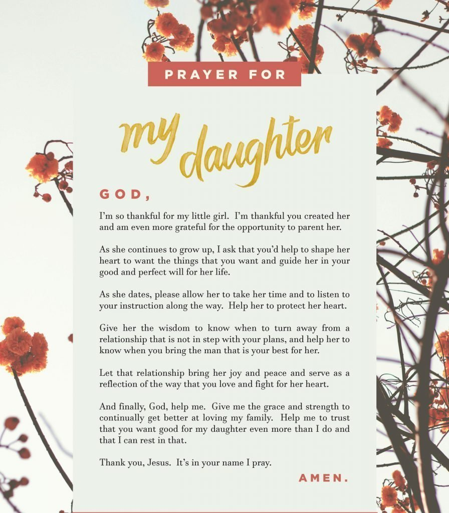 photo relating to Prayer Printable named Printable Prayers for Your Sons Daughters Tyndale Site