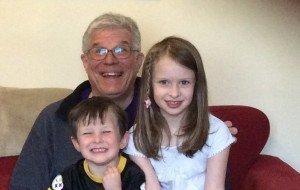 Bob Hartman and Grandkids 3