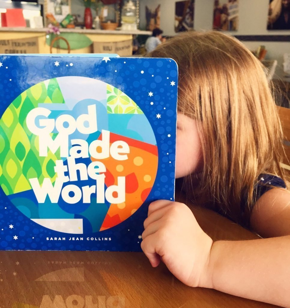 Why I Wrote And Illustrated God Made The World By Sarah