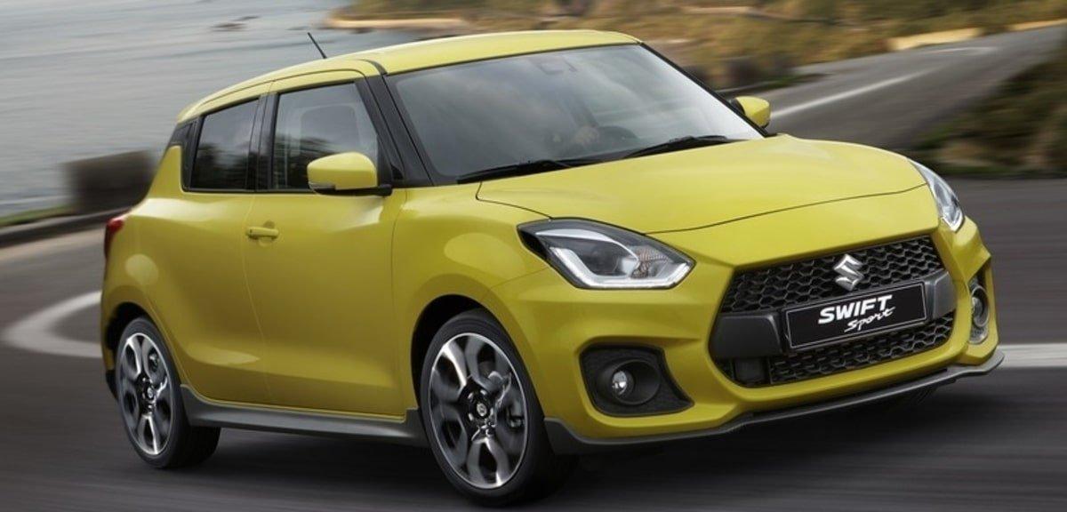 new Suzuki Swift Sport front view