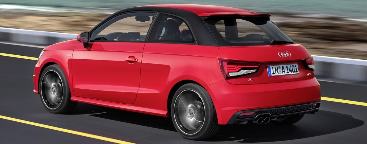used Audi A1 rear view