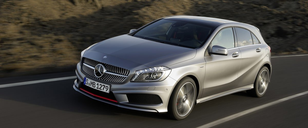 used Mercedes A Class front view