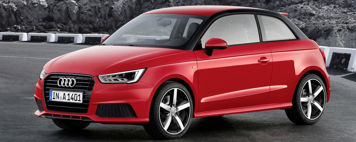 used Audi A1 side view