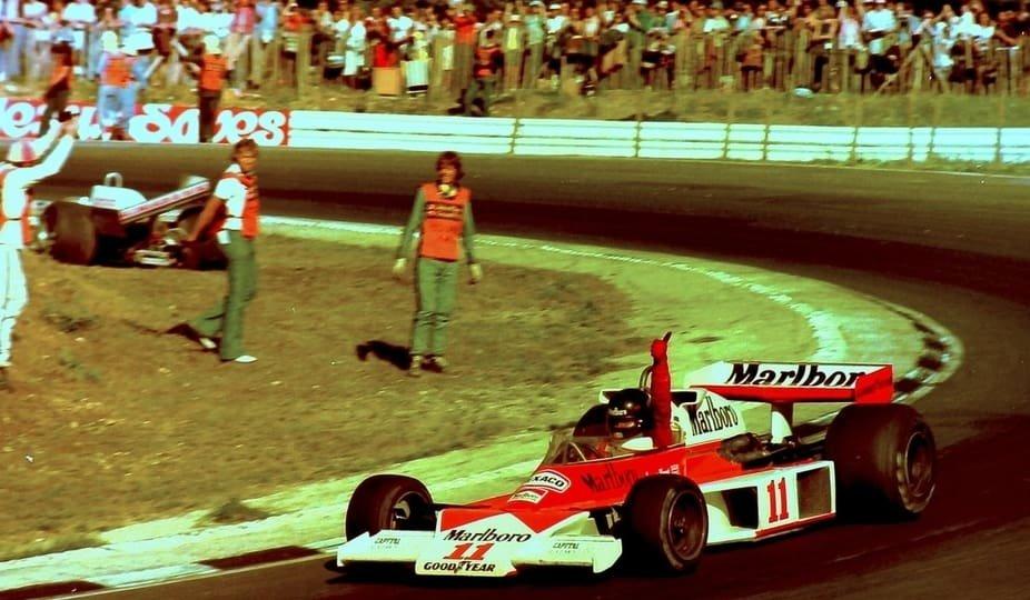 James Hunt - British Grand Prix