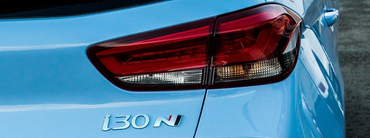 Hyundai i30N rear