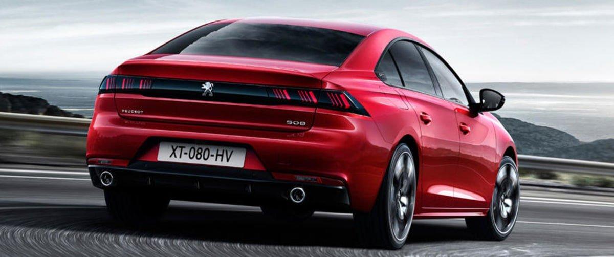 new Peugeot 508 rear