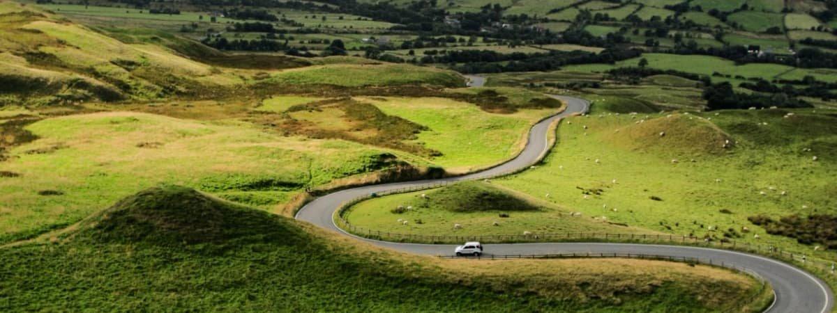 Mam Tor - Peak District Roads