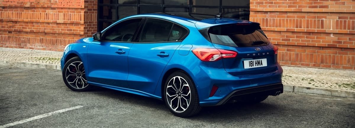 all new Ford Focus rear view