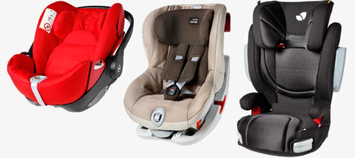 Different Class Child Car Seats