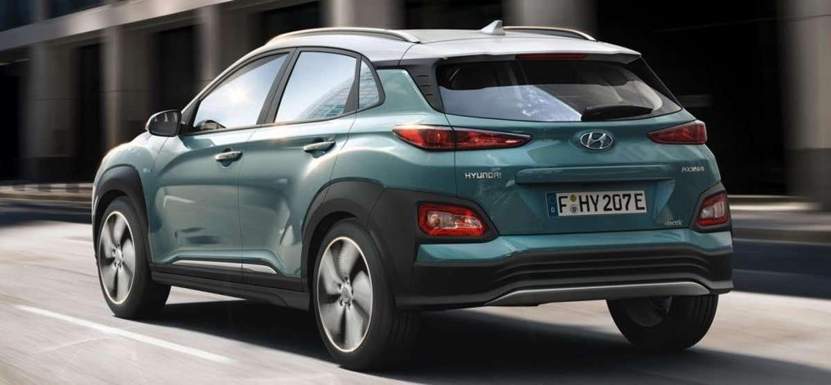 Hyundai Kona rear view