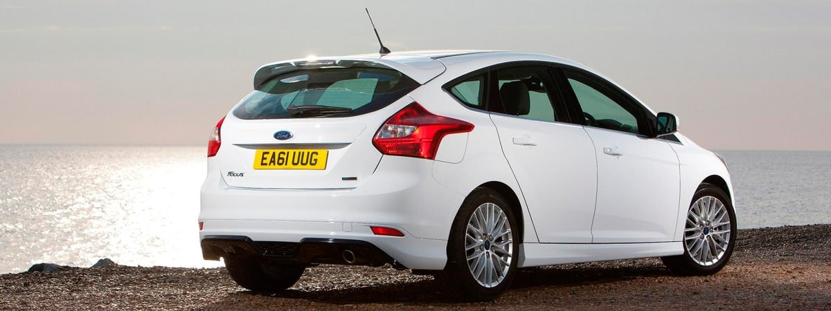 used Ford Focus rear view
