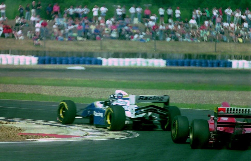Hill - British Grand Prix