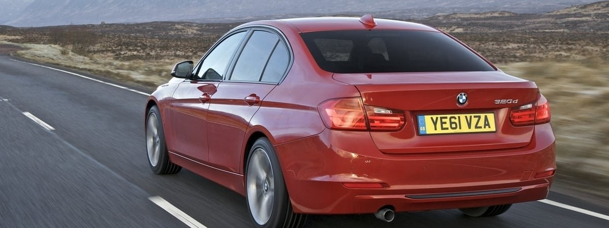 used BMW 3-Series rear view