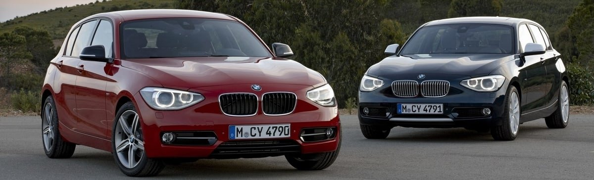used BMW 1-Series front view