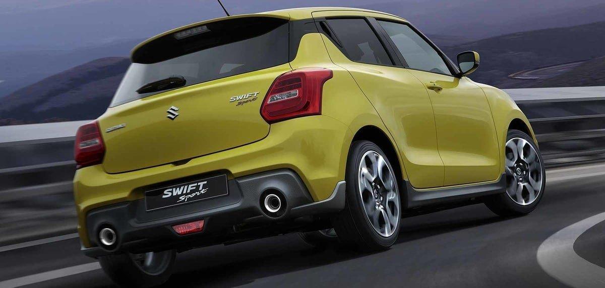 Suzuki Swift rear view