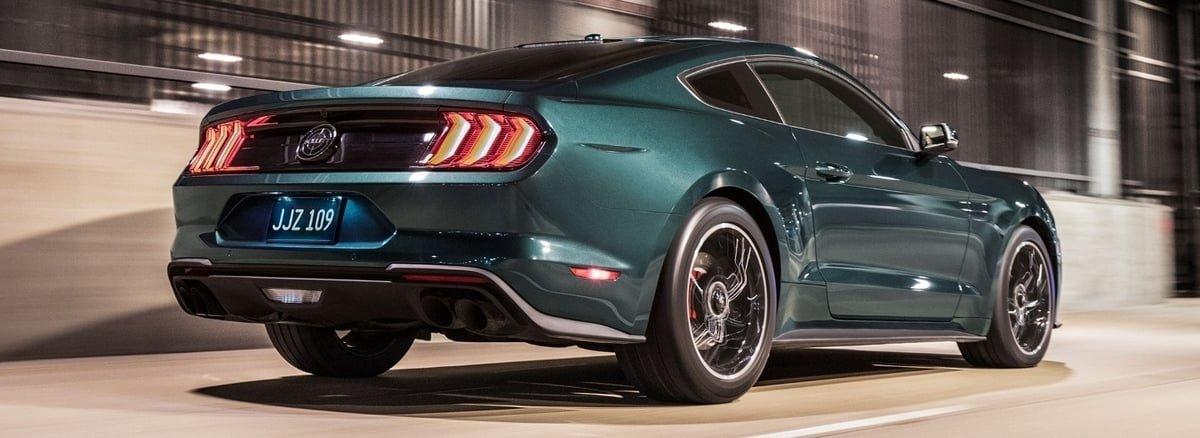 Mustang Bullitt rear view