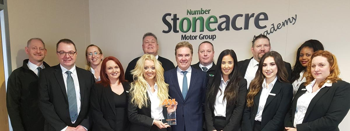 stoneacre academy scoops accolade at the am awards 2017. Black Bedroom Furniture Sets. Home Design Ideas