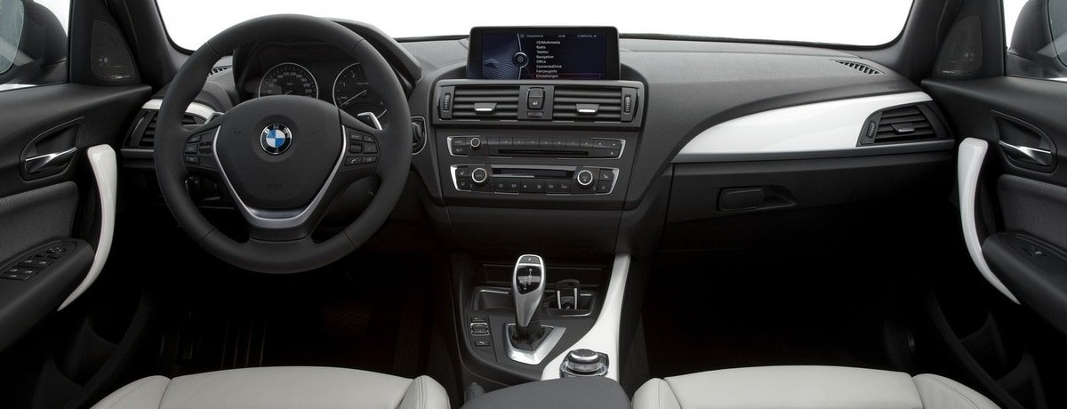 used BMW 1-Series interior view