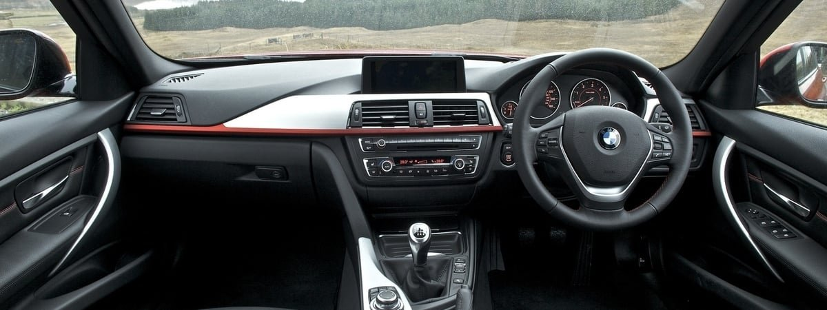used BMW 3-Series interior
