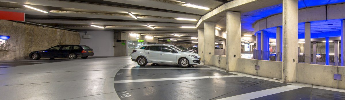 Negotiating a multi-storey car park