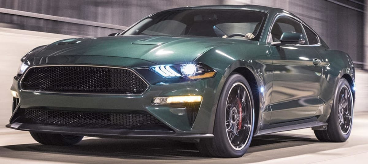 Mustang Bullitt front view