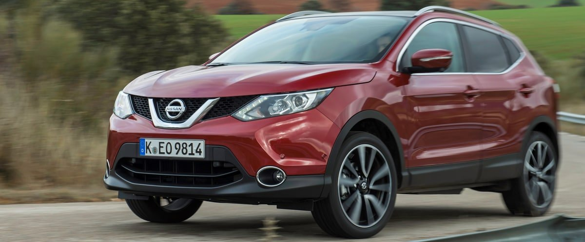 used Nissan Qashqai front view