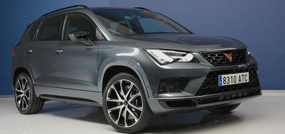 all new Cupra Ateca front view
