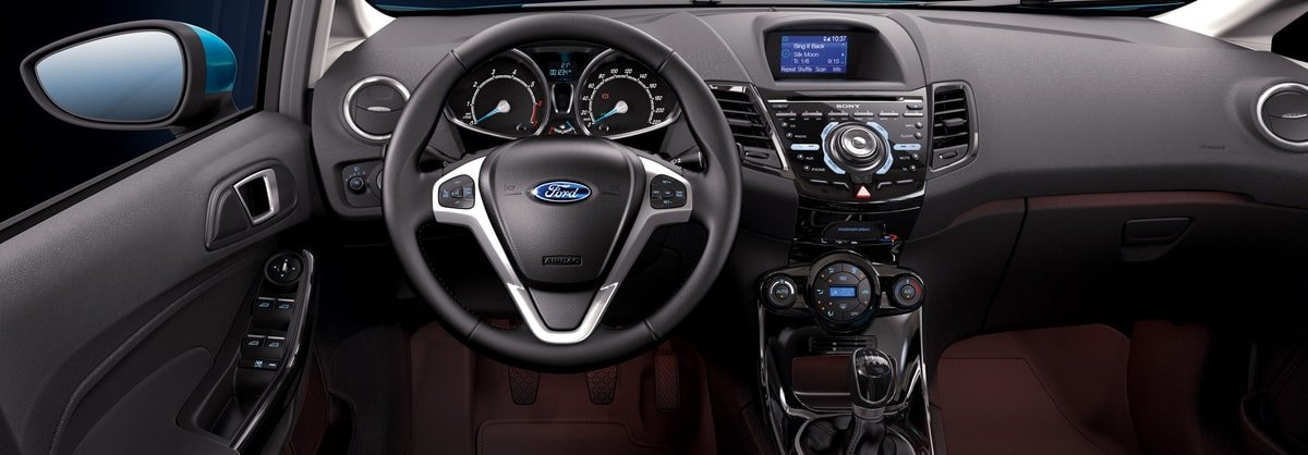 used Ford Fiesta interior view