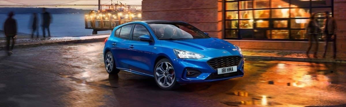 all new Ford Focus fron view