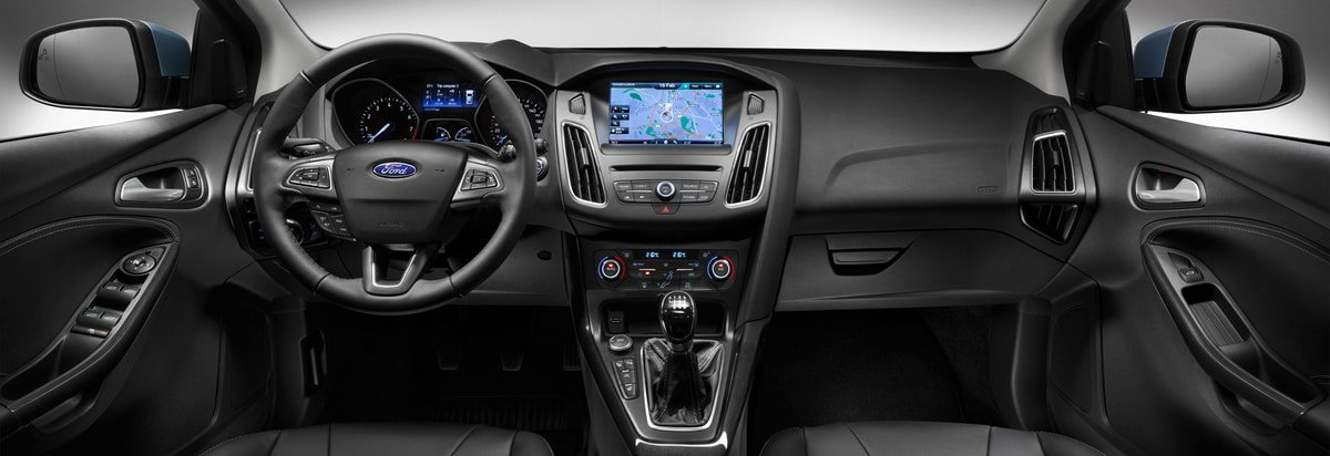 used Ford Focus interior view