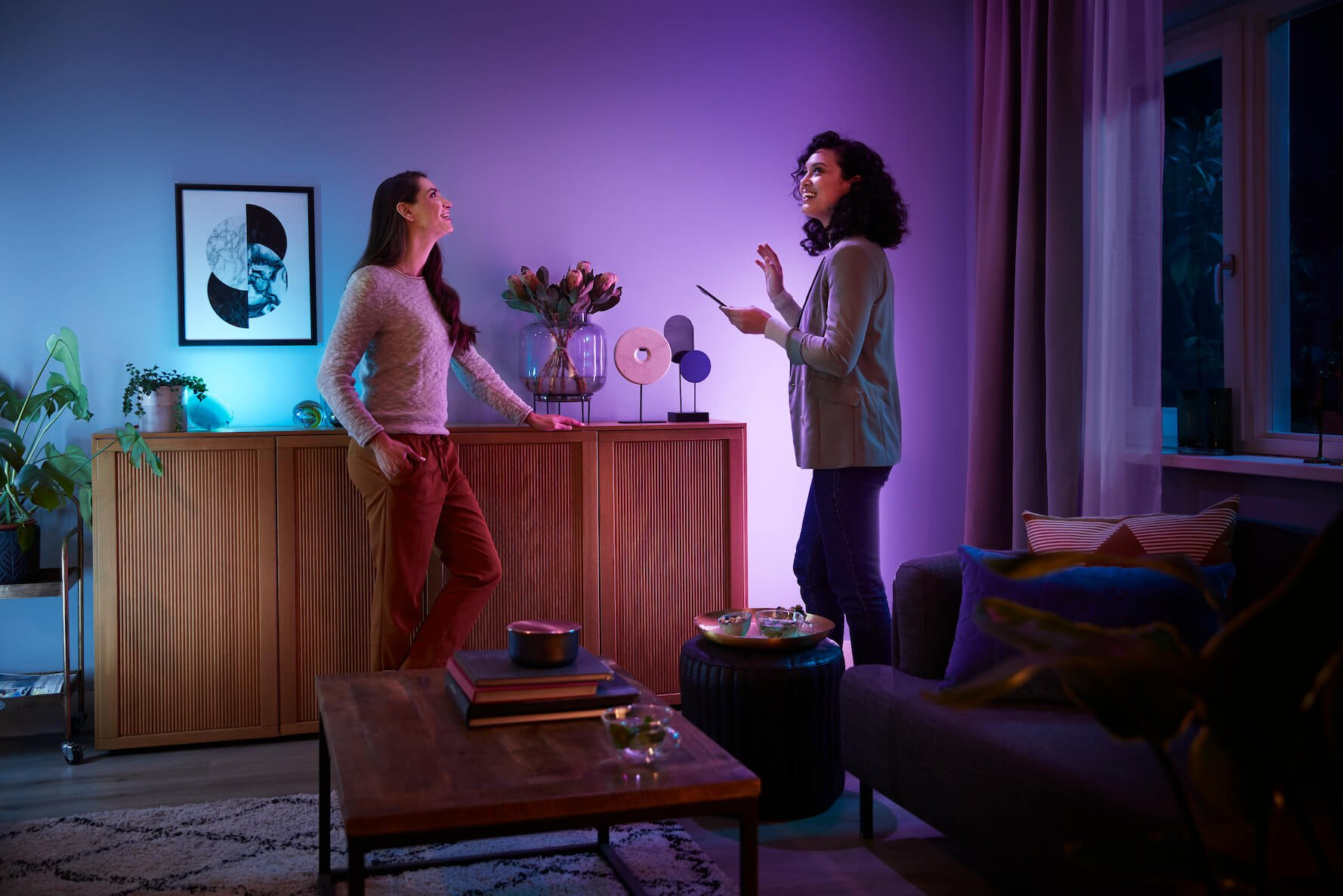 Enjoy Smart Lighting from your phone