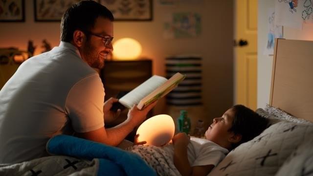 Kids bedtime reading